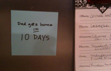 10 Days and Counting: The pity party commences